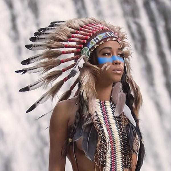 Head gears of Red Indians